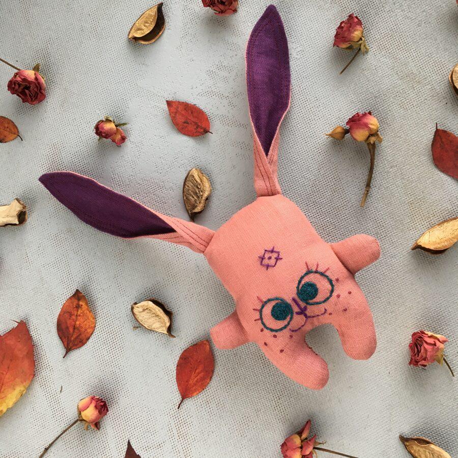 Zaķenīte-grabulīte (rozā)